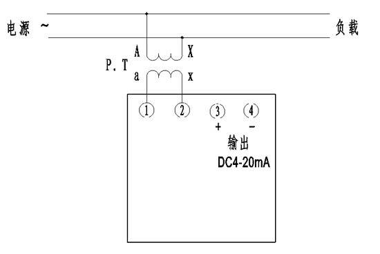 船用仪表/带隔离电量变送输出频率表