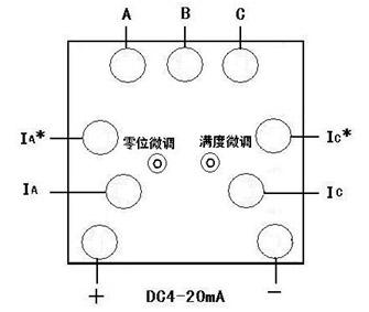 船用仪表/带隔离电量变送输出功率表