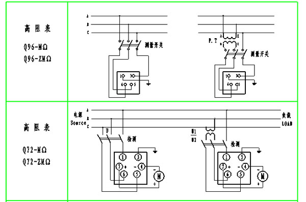 380v镝灯接线图图片免费下载; 上海自动化仪表一厂q72-mΩb24v直流